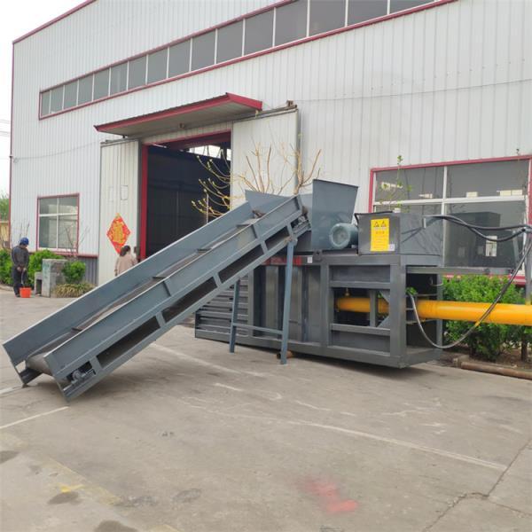 资阳卧式160吨废纸管打包机定制