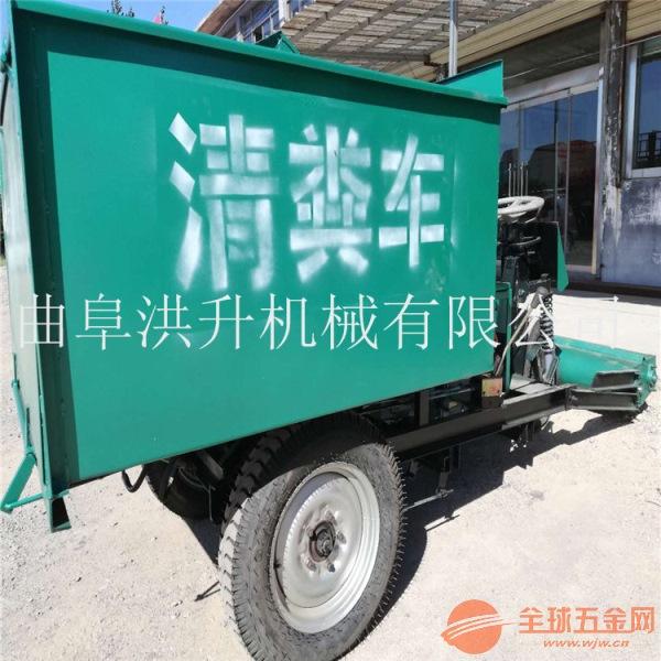 济宁大型自动化清粪车一机多用铲粪车
