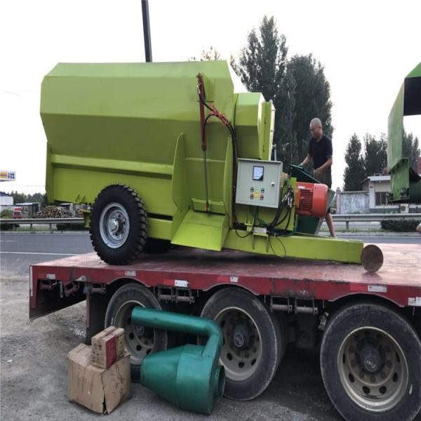 惠州2.5立方电动撒料车撒料车内部结构