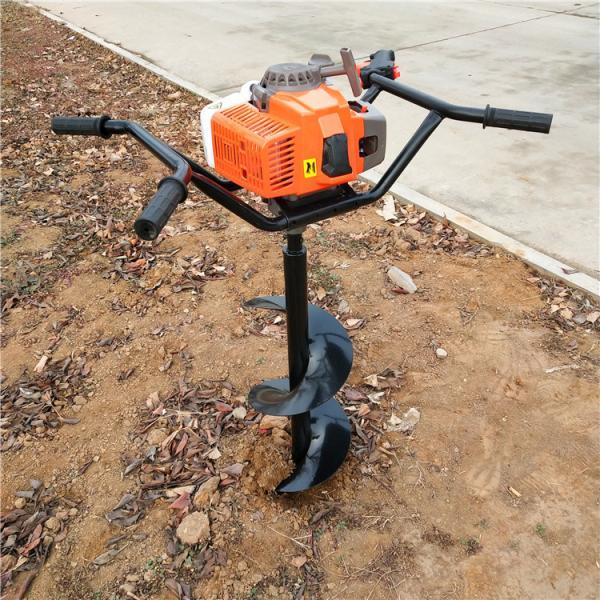手推式带架子汽油钻孔机