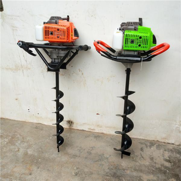 四冲程汽油动力钻孔挖穴机