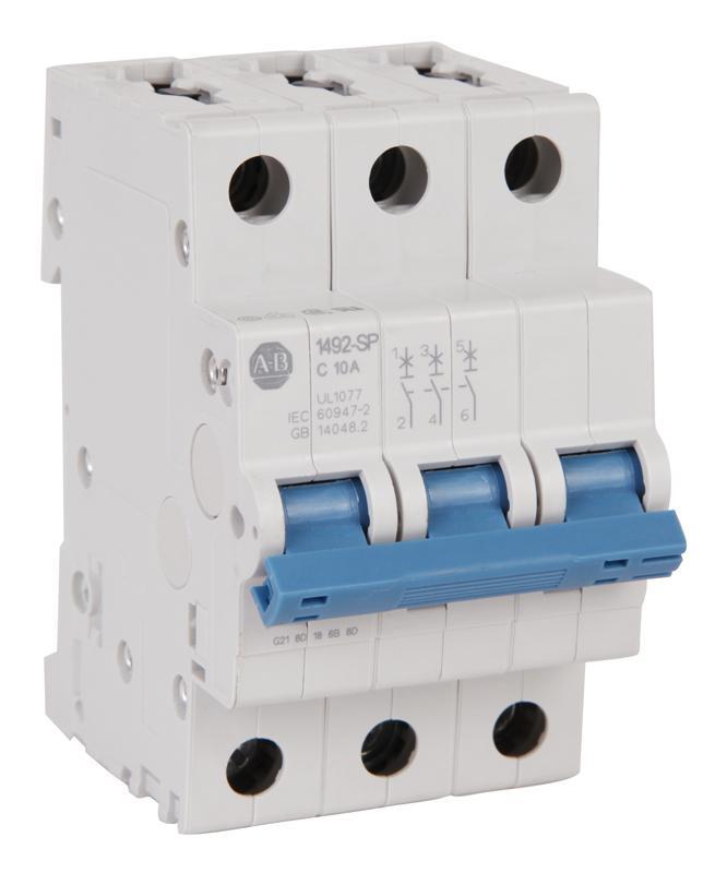 AB负载保护断路器1492-SPM3C100选型