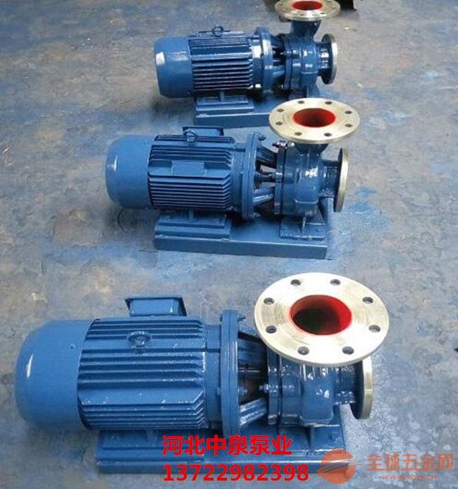 安徽宿州ISW管道泵*ISW80-315B管道泵设计公司