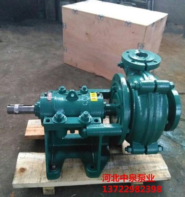 A黎城12寸离心渣浆循环泵A耐酸碱渣浆泵