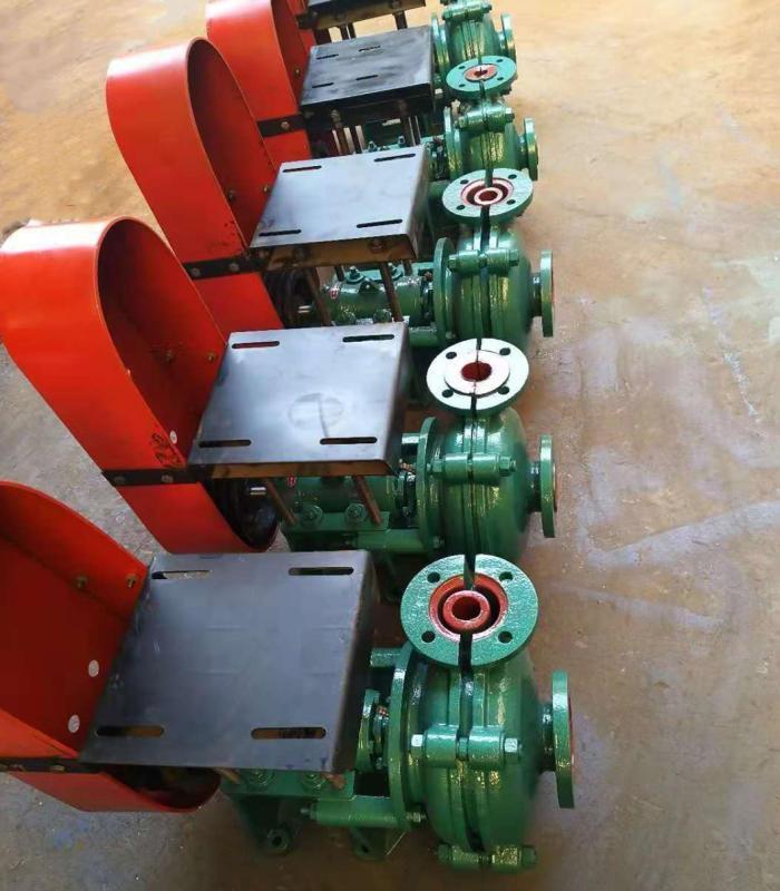 玉山12/10ST-AH固液渣浆泵耐磨高扬程抽渣泵