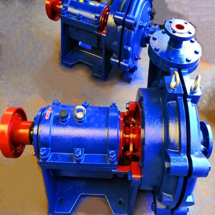高扬程抽渣泵济南平阴18/16ST-AH渣浆泵高效回流泵