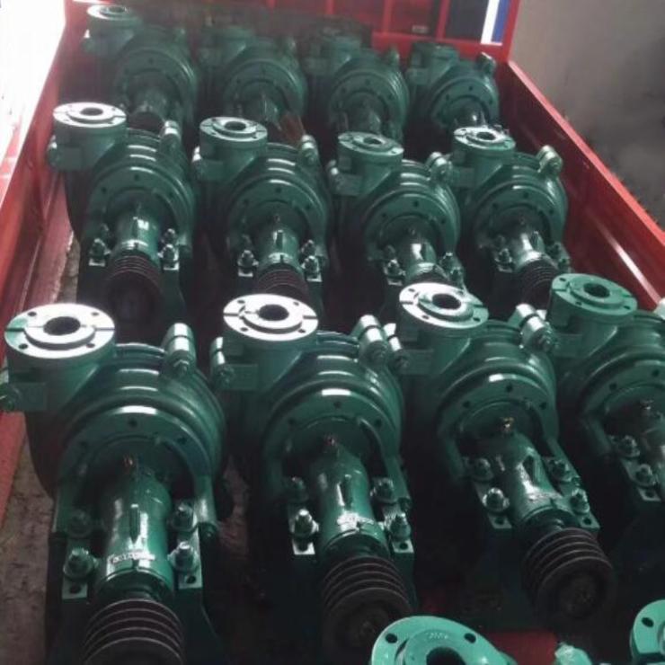 分数渣浆泵赣州崇义4/3C-AHR衬胶渣浆泵浓浆处理