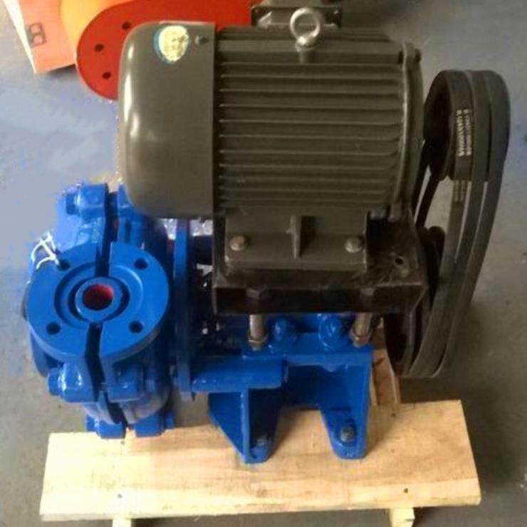 江西弋阳选矿渣浆泵进8寸出6寸+平行式离心渣浆泵