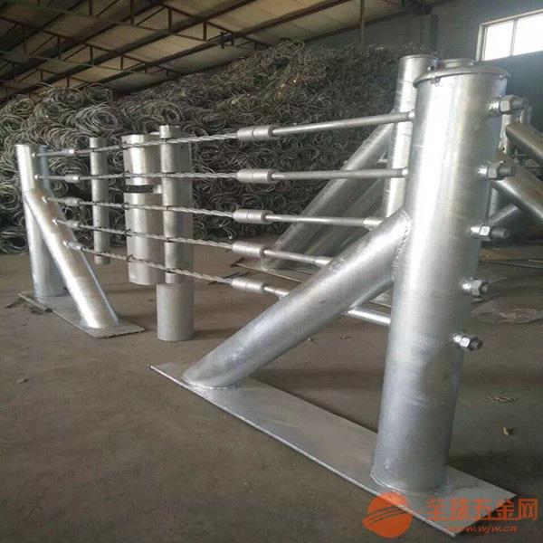 热镀锌五索缆索护栏_六索缆索护栏_专注于缆索护栏生产(优质厂家)
