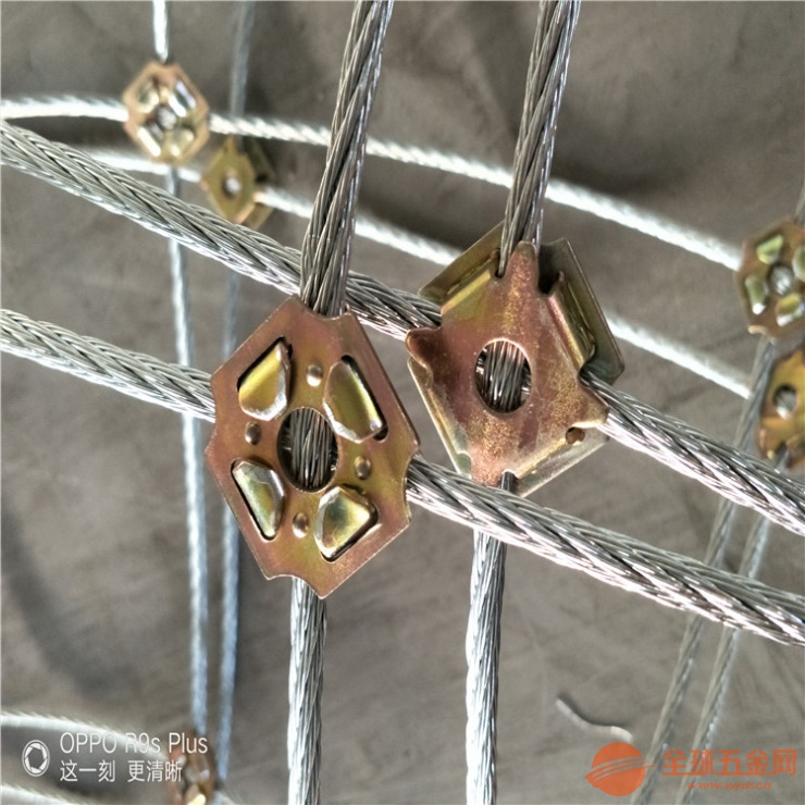 RX075型被动防护网特点及安装效果图