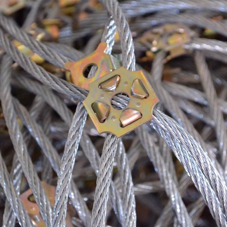 专业生产钛克网_泥石流防护用主动边坡网
