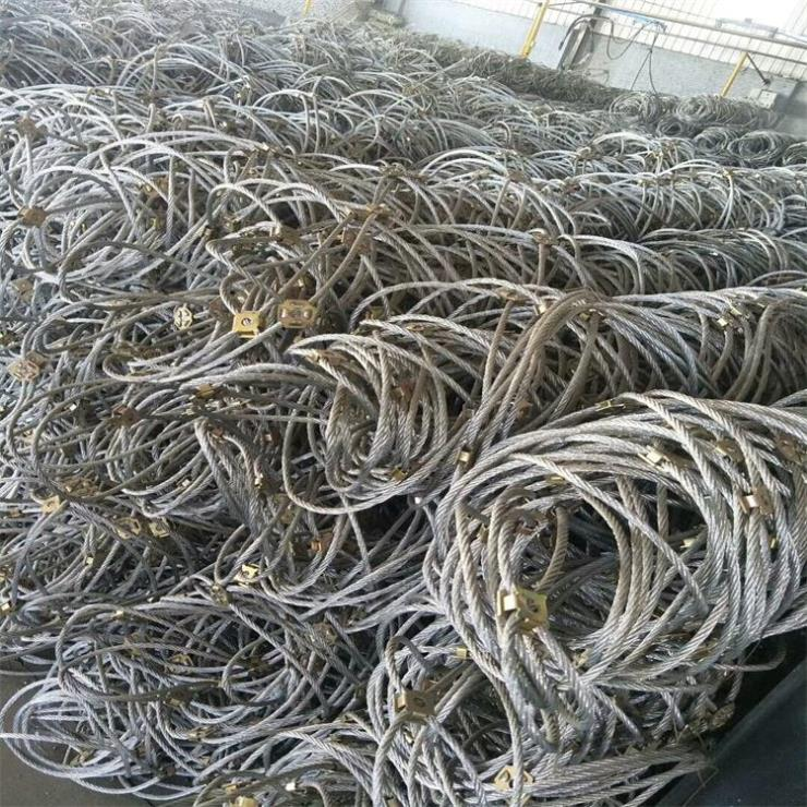 阻石钢丝绳被动网的种类及型号介绍