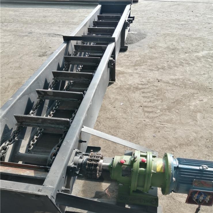 铺大理石板刮板输送机 双板链碎煤块装车用提升机Lj3
