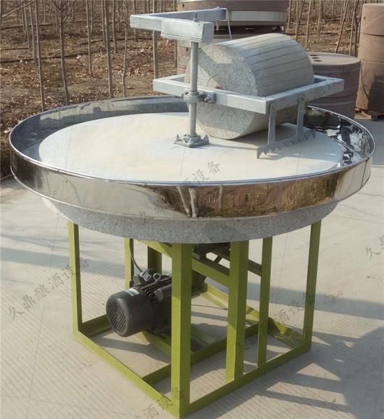 沽源县五谷杂粮机电动石磨机小型电动石磨面粉机