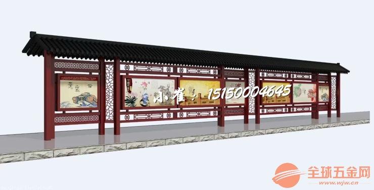 辽宁营口宣传栏厂家,营口宣传栏制造,校园长廊橱窗宣传栏