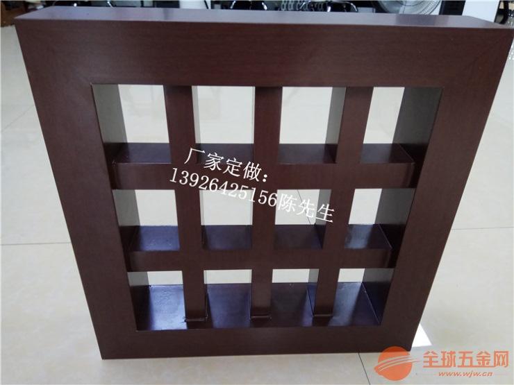 外墙艺术格栅 幕墙方管格栅 金属建筑装饰材料