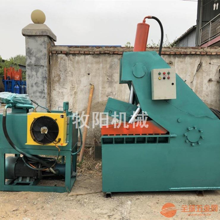 虎头式废金属剪切机 液压鳄鱼剪金属剪切机