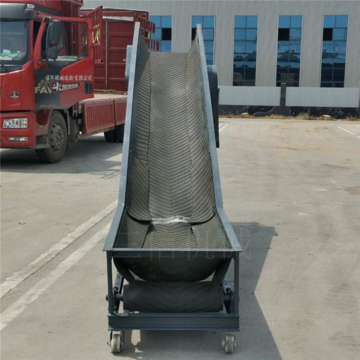 化肥装车皮带输送机玉溪皮带输送机图片