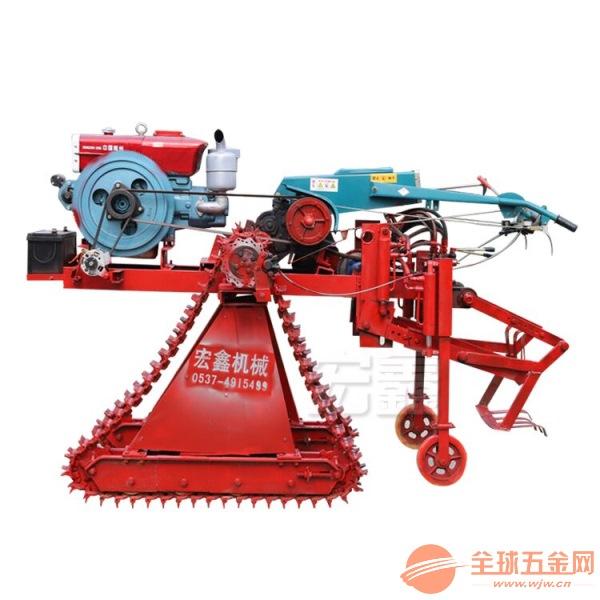 自走式小麦水稻割晒机 1米宽4齿割台收割机