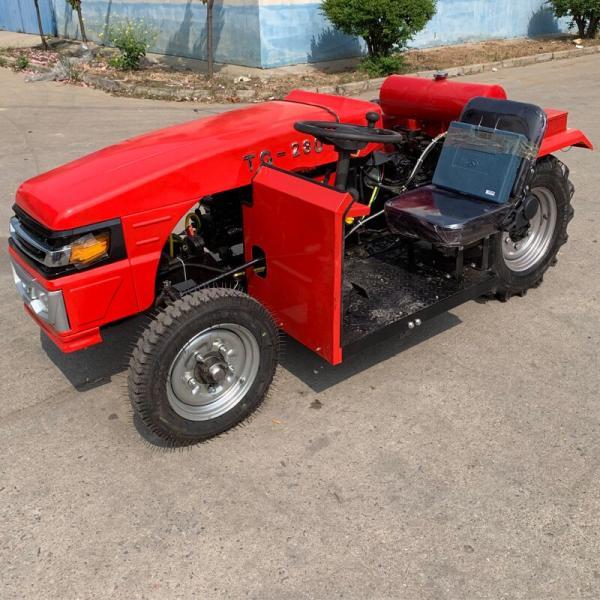 迷你車身四輪拖拉機 六安 30馬力單缸四輪拖拉機
