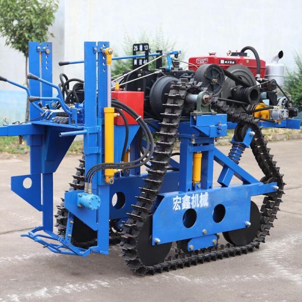 手扶刨挖大葱机器 新城区 手扶起大葱机器