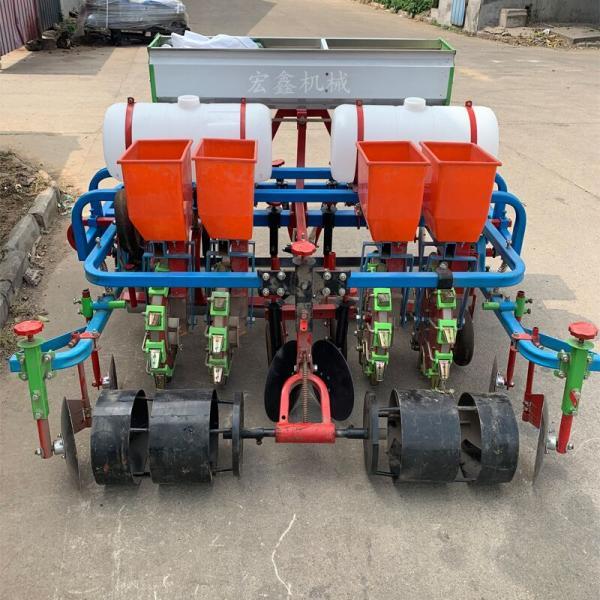 兩壟四行玉米播種機 崇左 四輪車帶動的土豆播種機
