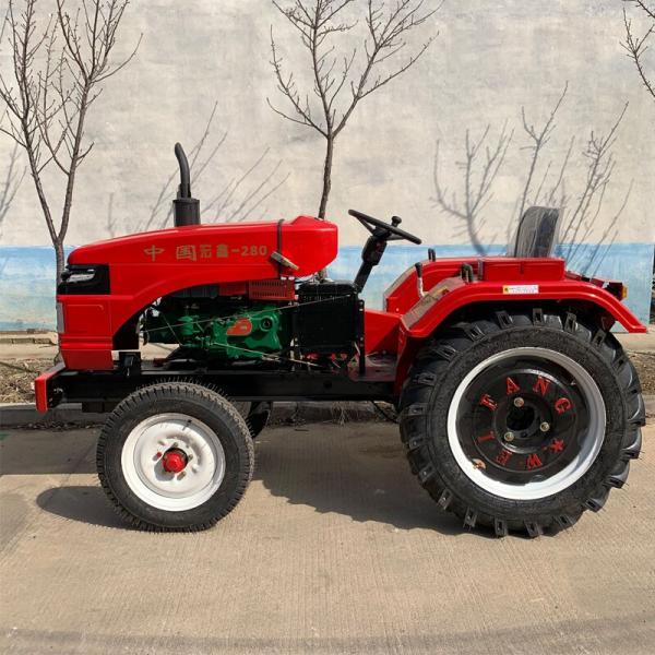 多功能單缸拖拉機四輪拖拉機 天津 低矮駕駛式四輪旋耕機