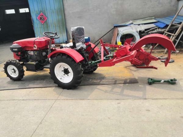 四輪小型拖拉機圖片 自貢 窄輪距農用小型拖拉機