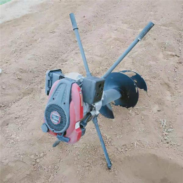 鄂尔多斯 立杆园林植树挖穴挖坑机 植树打坑机