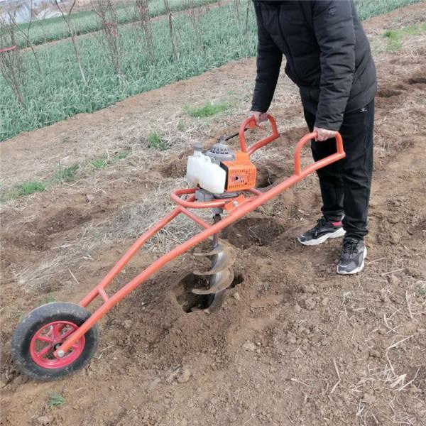 阳江 螺旋钻头打桩机 植树挖坑机型号
