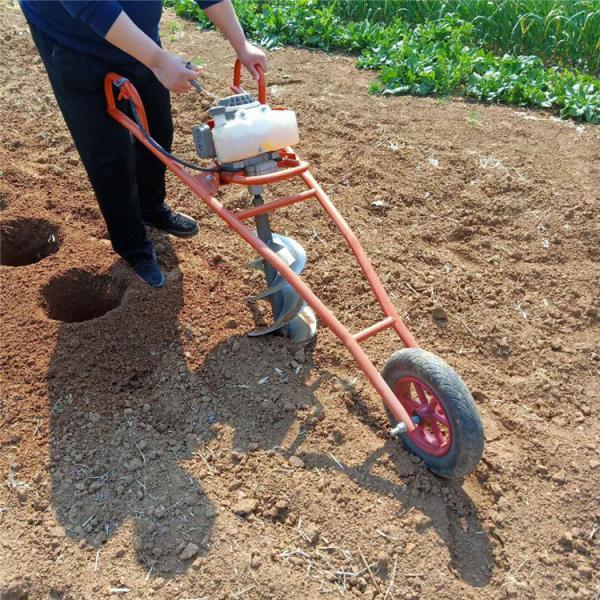 丽水 种树专用地钻机 直销便携式植树挖坑机