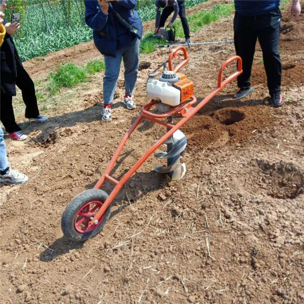 大同 苗木移植打眼机 植树机大功率挖坑机