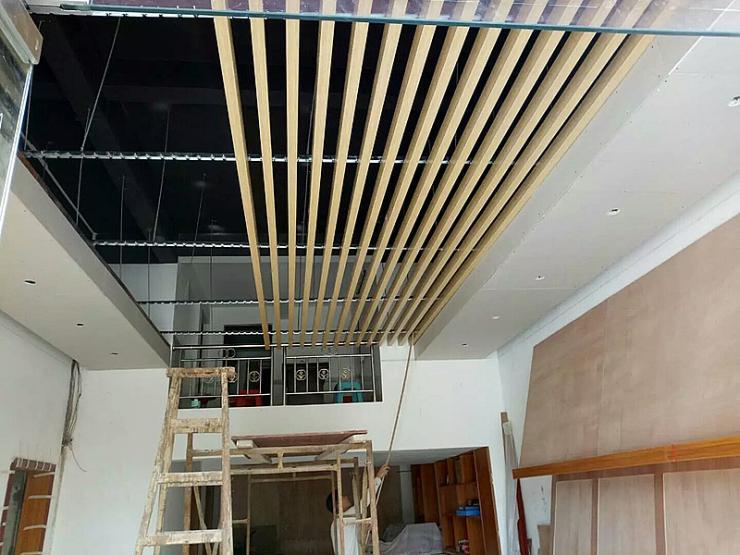 商場吊頂定西鋁方管尺寸生產廠家