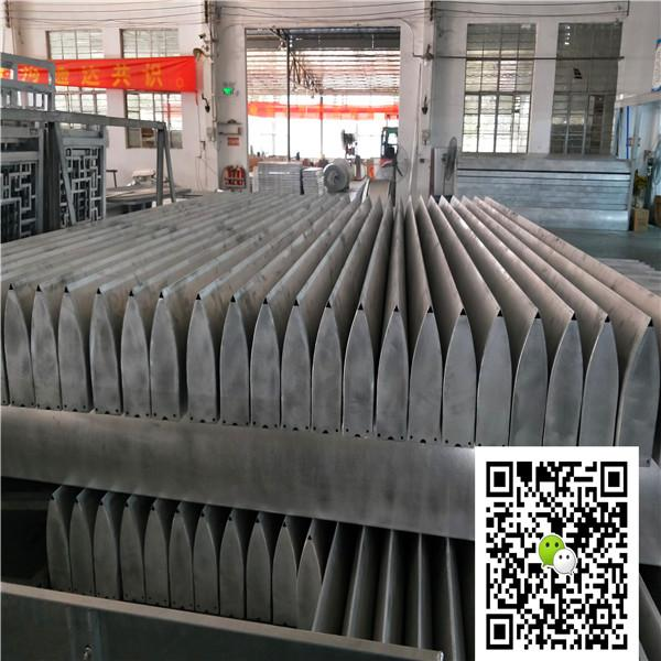 市场改造商洛红铝方管安装节点图