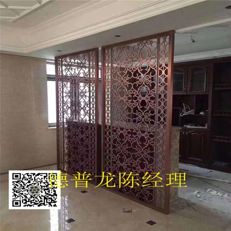 商場幕墻安順仿古銅鋁浮雕板安裝節點圖