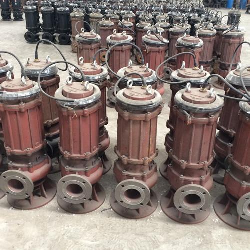 批发50WQ10-10-0.75自耦式潜污泵,WQ污水泵叶轮