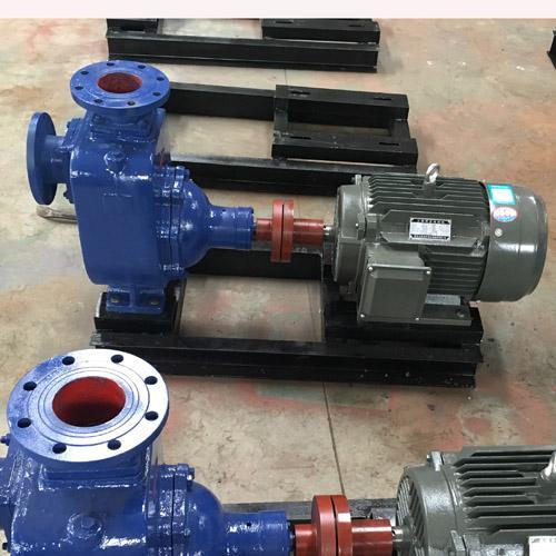 50ZX15-12无堵塞自泵卧式自离心泵