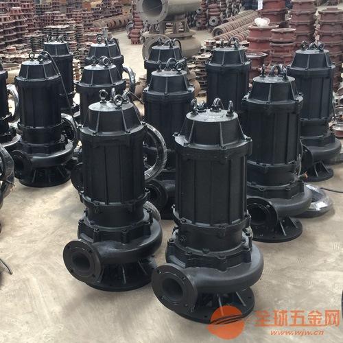 自耦式潜污泵安装_100WQ60-9-3污水泵