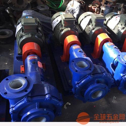 150UHB-ZK-270-14防腐耐磨砂浆泵,衬氟砂浆泵安装图