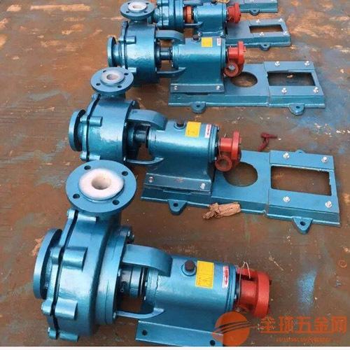 80UHB-ZK-45-32防磨蚀泵,衬氟砂浆泵安装图