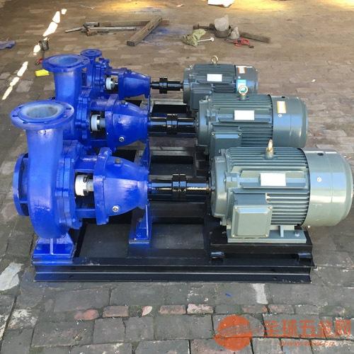 IHF塑料合金化工泵安装 IHF80-50-250化工泵