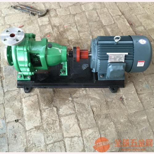 IH50-32-160卧式化工泵结构,IH型化工离心泵