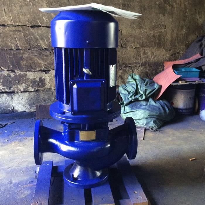 供水泵 增压管道泵原理图 KQL65/315-4/4管道泵