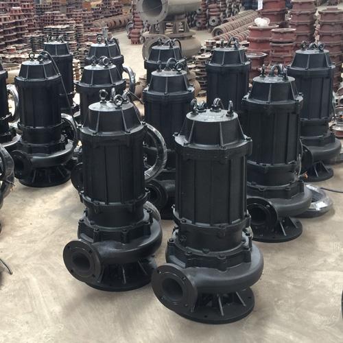 山西防爆型矿用排污泵 50WQ15-35-4排水排污泵