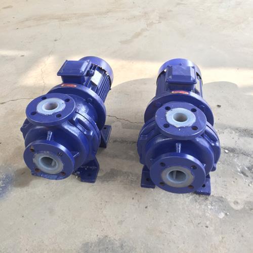 石家莊氟塑料磁力泵 CQB80-65-160F磁力驅動泵
