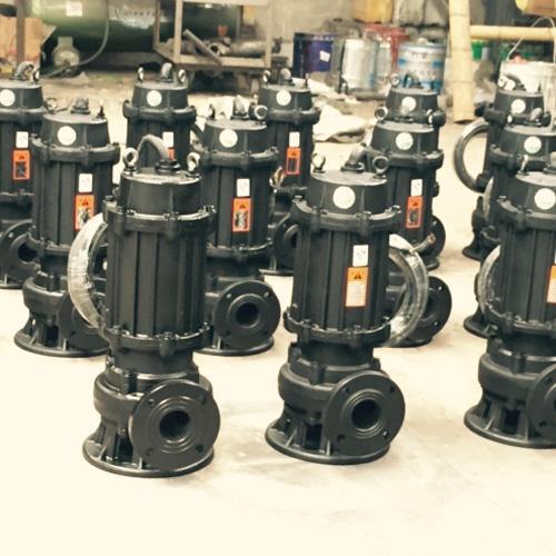 150WQ200-25-30切割式潜污泵 潜污泵尺寸图