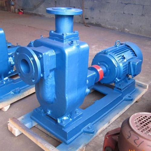 50ZX15-12无堵塞自吸泵卧式自吸离心泵
