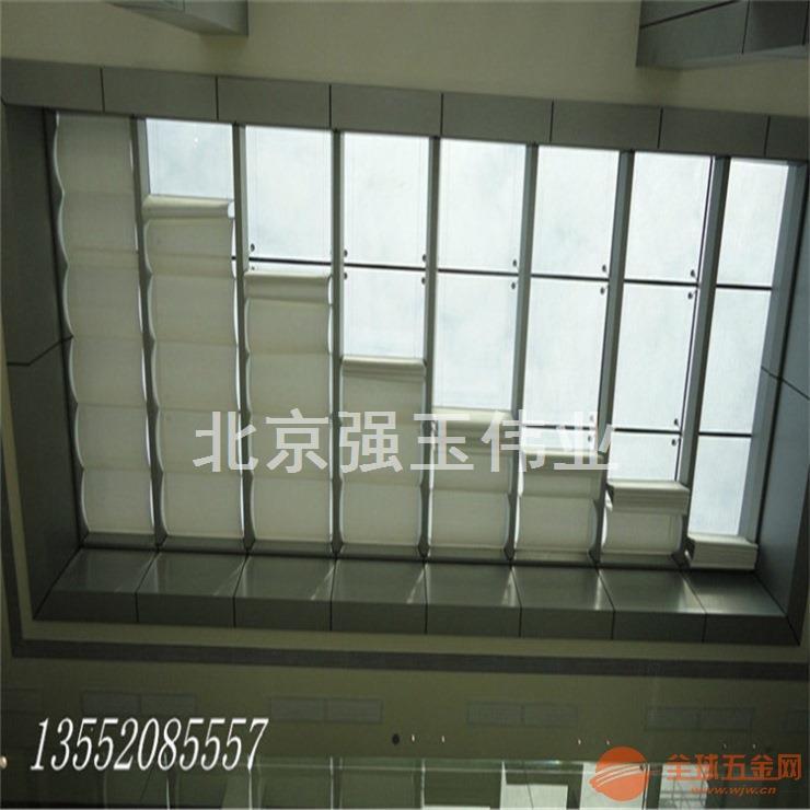 定制阳光房遮阳帘电动天蓬帘玻璃天窗帘折叠顶棚阳台遮光天棚帘