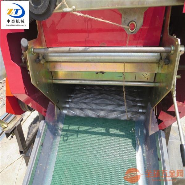 全自动玉米秸秆打包机多功能青贮秸秆打捆机液压青储饲料打包机