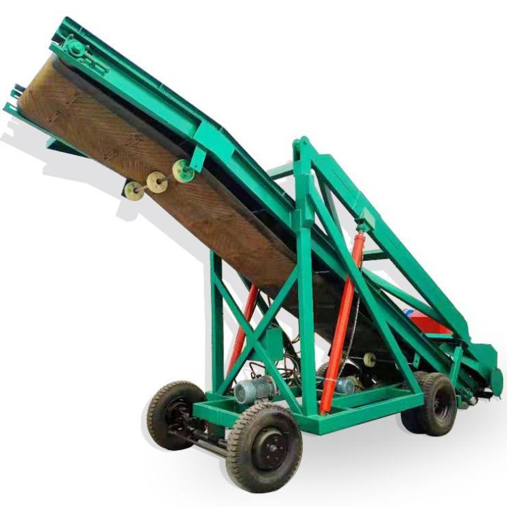 秸秆饲料装取车玉米秸秆青储取料机电力驱动取草机
